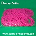 Orthodontic fashion ligature tie