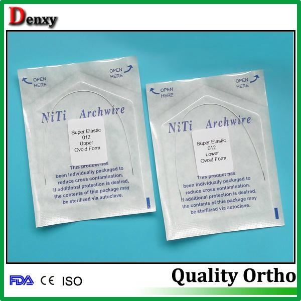 nitinol arch wires orthodontic material - round/ rect - Denxy (China ...