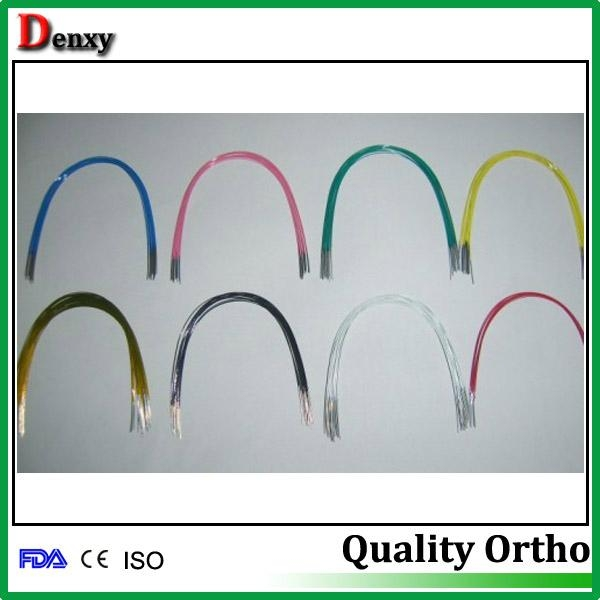 Nitinol Arch Wires Orthodontic Material Round Rect