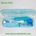 Dental oral care Dental kit ortho kit orthodontic kit dental travel kit