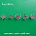 Dental orthodontic fashion brackets cartoon brackets orthodontic braces