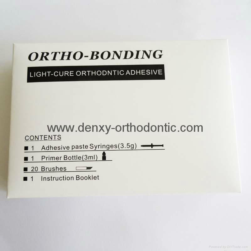 Orthodontic adhesive Ortho Force Light cure Bonding / Glue self cure adhesive 18
