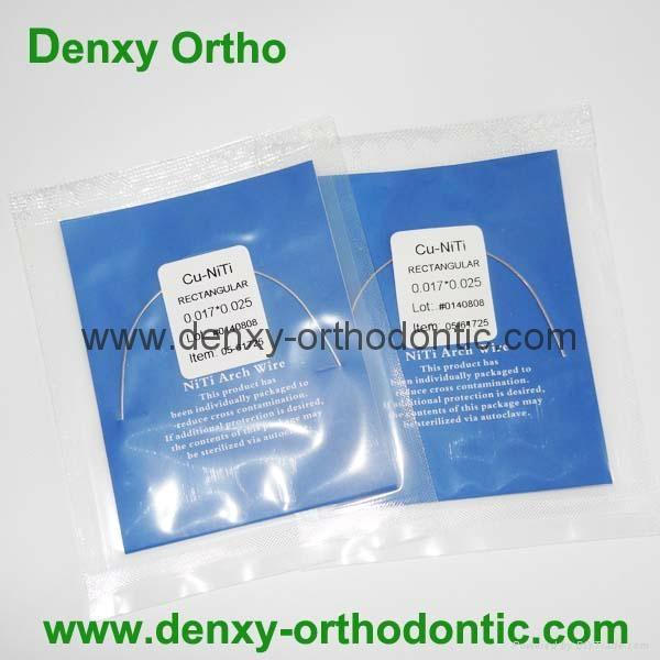 A Quality-Cu-Niti / Copper Niti Arch Wire Orthodontic Niti arch wire 3