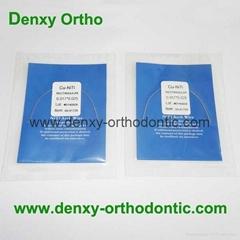 A Quality-Cu-Niti / Copper Niti Arch Wire Orthodontic Niti arch wire