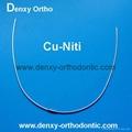 A Quality-Cu-Niti / Copper Niti Arch Wire Orthodontic Niti arch wire 10