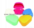 Dental box retainer box denture box  orthodontic box