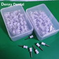 Accessory Dental Disposable Latch Type  Flat  prophy brushes 7