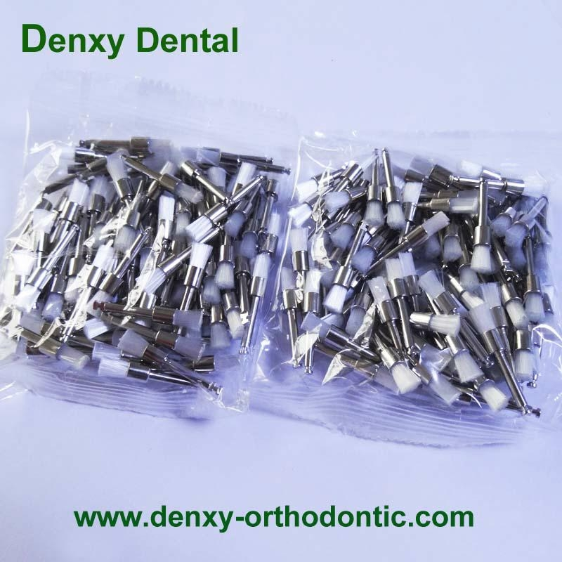 Accessory Dental Disposable Latch Type  Flat  prophy brushes 9