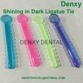 Shining in Dark Ligature tie Ligas /