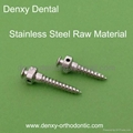 Stainless Steel mini implant Orthodontic Dental mini implant orthodontic screw