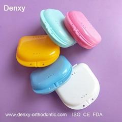Denture box retainer box orthodontic box
