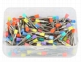 Accessory Dental Disposable Latch Type  Flat  prophy brushes 16