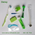 Dental oral care Dental kit ortho kit orthodontic kit dental travel kit