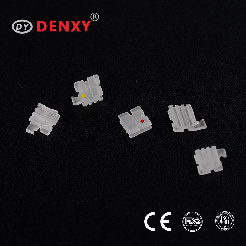 Denxy Dental Supplies Orthodontic material supplier ceramic bracket 16