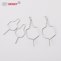 Short Metal Ligature Tie Metal wire Dental Kobayashi wire Orthodontic Wire