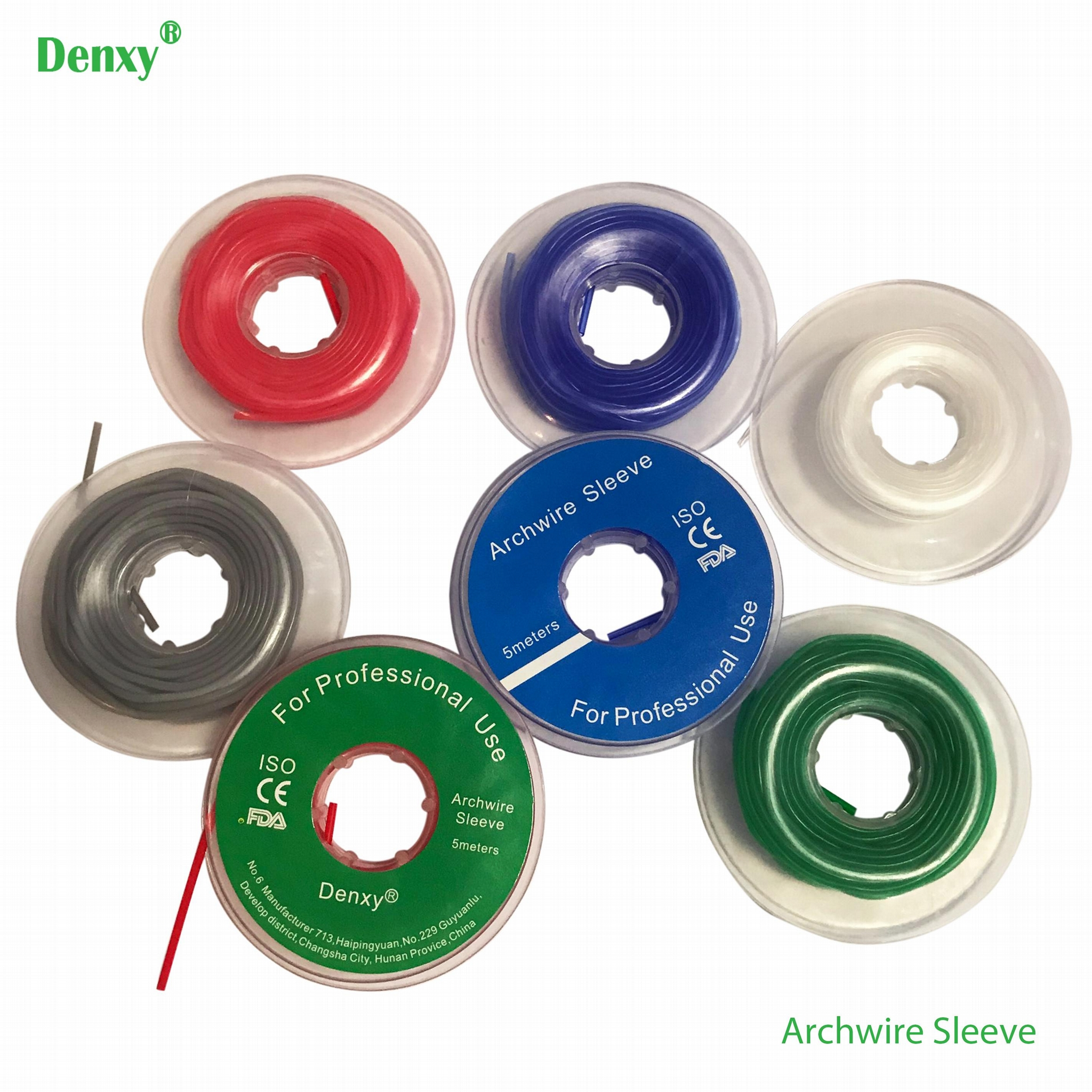 Orthodontic Protect Archwire Sleeve arch wire pump dental orthodontic 7