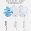 Medical Mask 3layer Disposable Face mask Safety-mask protective face mouth mask