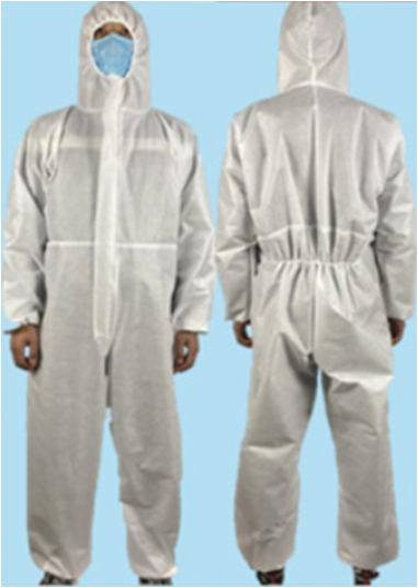 Isolation Gown Disposable Medical Coverall Nonwoven SMS Virus Protection Suit 1
