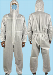 Isolation Gown Disposable Medical Coverall Nonwoven SMS Virus Protection Suit
