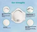 FFP2 Mask N95 Mask Anti CoronaVirus anti flu Safety Protective Mask Dust Masks