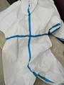 Medical  Isolation Gown Disposable Coverall Nonwoven SMS Virus Protection Suit 2
