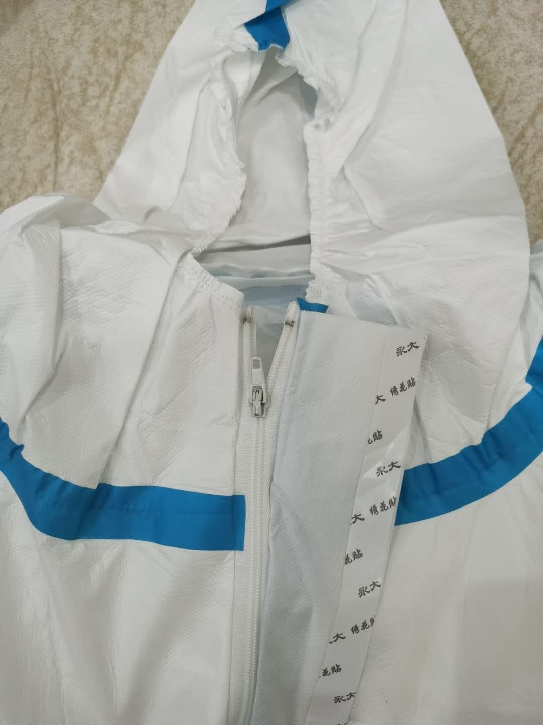Medical  Isolation Gown Disposable Coverall Nonwoven SMS Virus Protection Suit 3