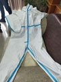 Medical  Isolation Gown Disposable Coverall Nonwoven SMS Virus Protection Suit 4