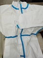 Medical  Isolation Gown Disposable Coverall Nonwoven SMS Virus Protection Suit 5