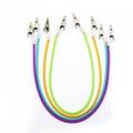 Dental Bib Clips Autoclavable Flexible Chain Napkin Holder Silicone Patient Clip