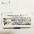 Dental Orthodontic Mould Starter Kit Ortho Injection Mould kit for Bracket Lingu