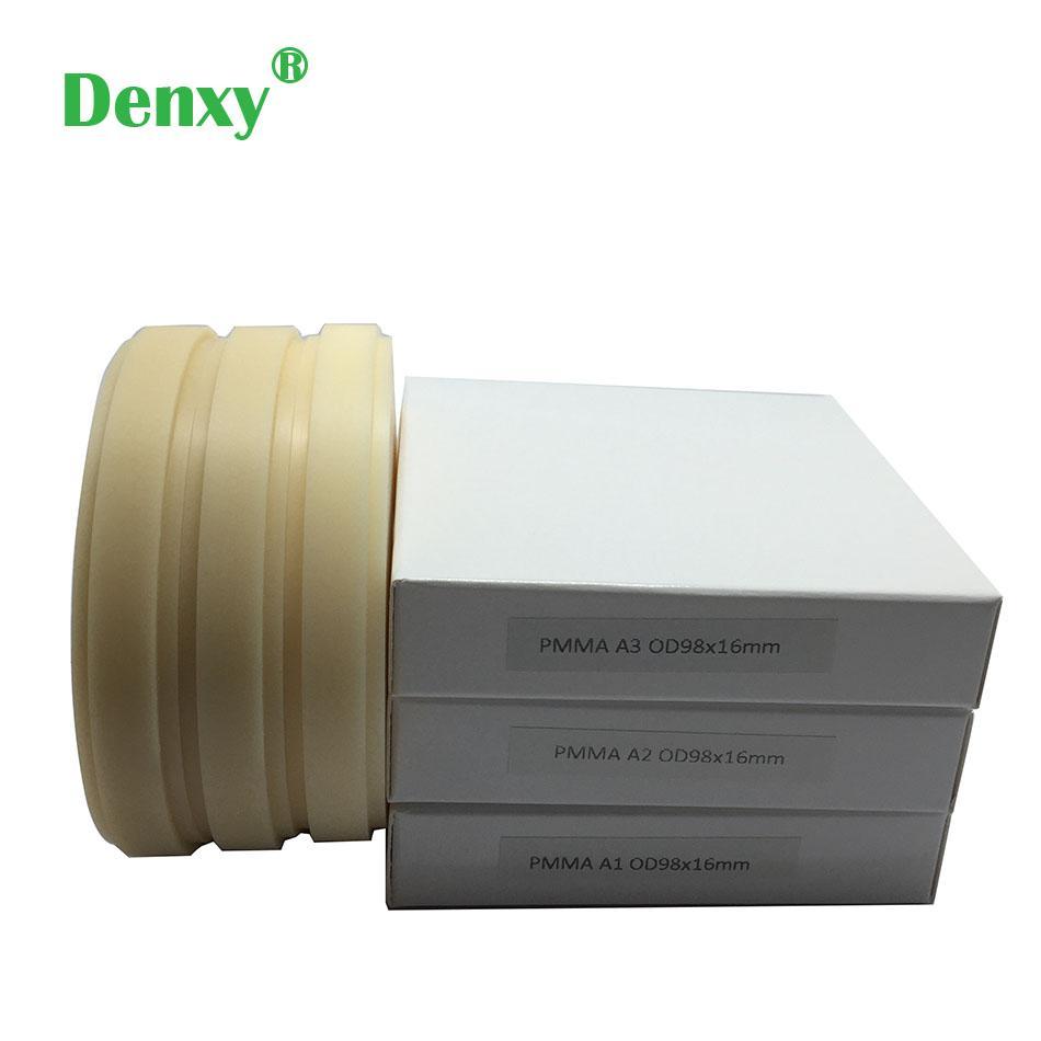 Denxy Dental PMMA Blocks Pmma milling discs Dental Material lab for Make Te 1