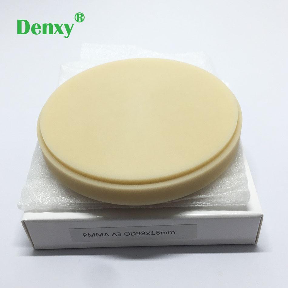 Denxy Dental PMMA Blocks Pmma milling discs Dental Material lab for Make Te 6