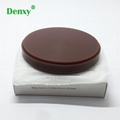 Dental brown Color Wax Block Disc Carving Brown Wax Disc dental zirconia blocks