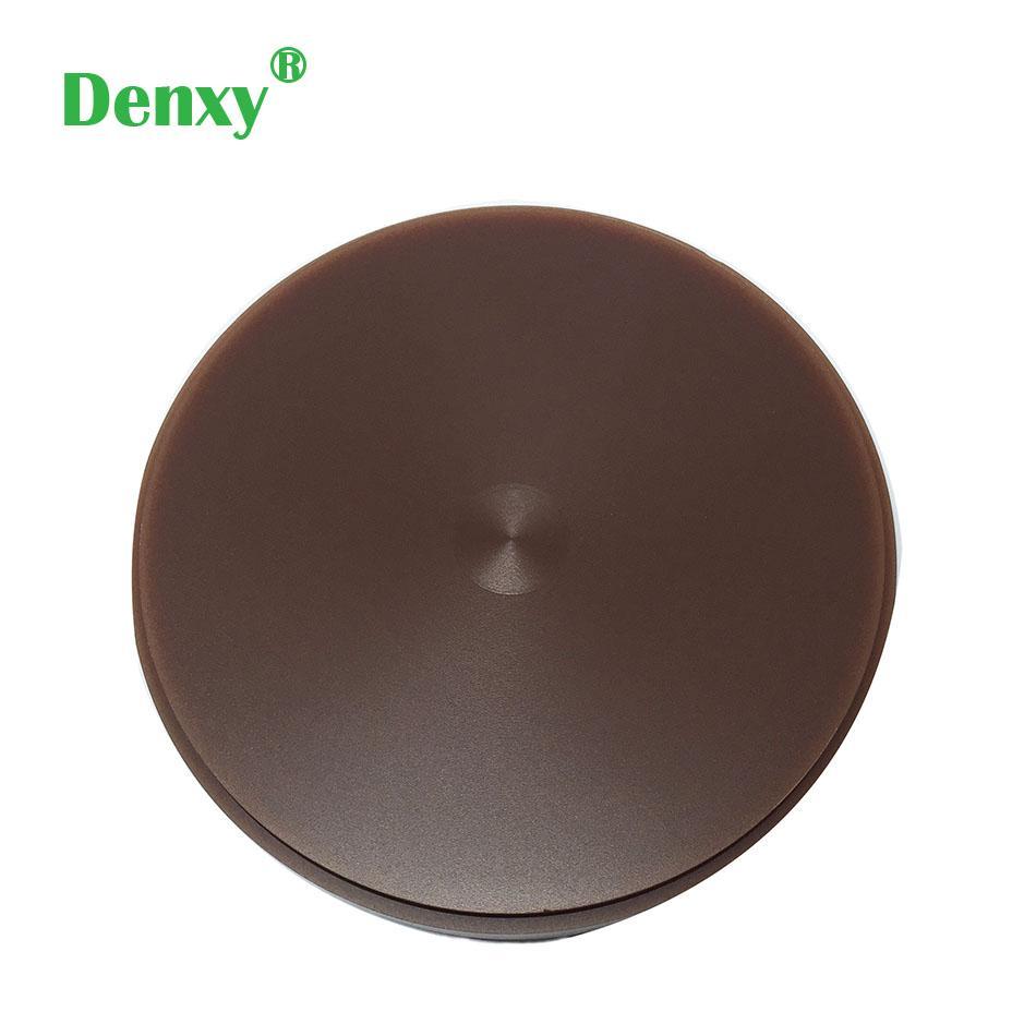 Dental brown Color Wax Block Disc Carving Brown Wax Disc dental zirconia blocks