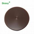 Dental brown Color Wax Block Disc