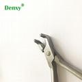 dental Orthodontic Pliers Flat distal end Cutter