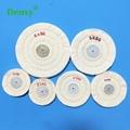 Dental White Cloth Round Flannel Wheel