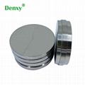 Denxy dental titanium blocks for CAD CAM milling titanium disc grade 5eli dental 2