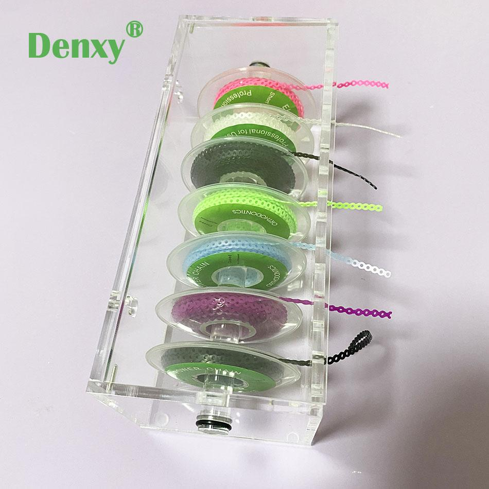 Dental Orthodontic Power Chain Acrylic Dispenser Placing Box Power Chain 1