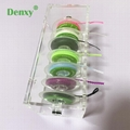 Dental Orthodontic Power Chain Acrylic Dispenser Placing Box Power Chain