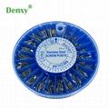 Dental Stainless Steel Screw Post 240pcs&2Key Dental Dentist Conical Screw post  3