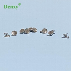 Denxy Dental Orthodontic direct bonding hook lingual button sliding hooks crimpa