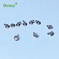 Denxy Dental Orthodontic direct bonding hook lingual button sliding hooks crimpa