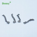 Denxy Quality dental Orthodontic Lingual Button with Chain Dental Lingual Tracti