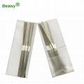 Dental abrasive strip with hole Metal Polishing teeth Dentist Whitening Material