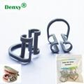 Dental Cotton Roll Holder Clip Disposable Dental Isolator Tool Clinic dentist to