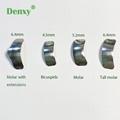 Dental Matrix sectional Contoured Saddle Contoured Metal Matrices Matrix Univers