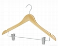 low prices wooden hanger with lotus