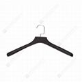 Hard wood suit hangers with high quality hard wooden hangers  3