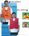 Inflatable lifejacket( vest style )